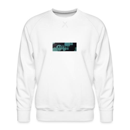 Extinct box logo - Men's Premium Sweatshirt