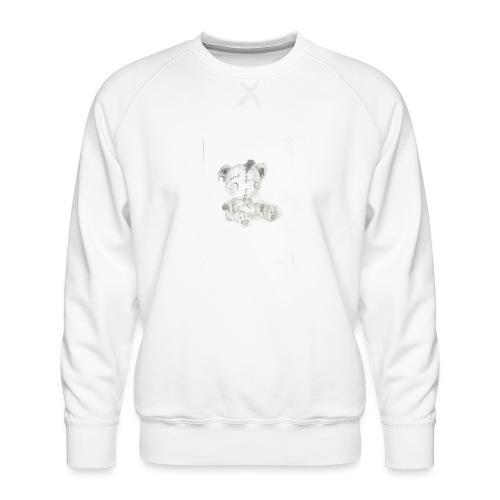 Broken teddybear - Mannen premium sweater