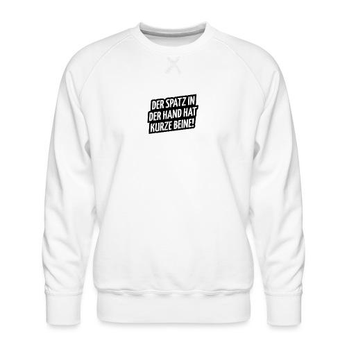 Der Spatz - Männer Premium Pullover