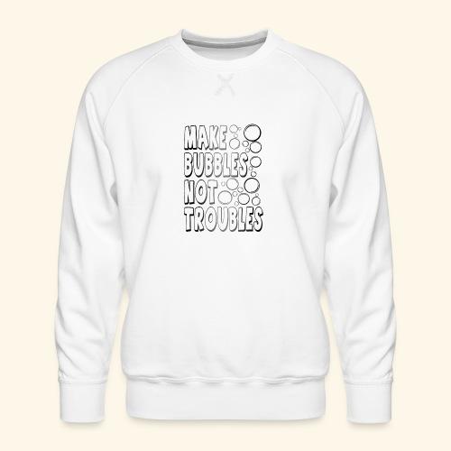 Bubbles002 - Mannen premium sweater