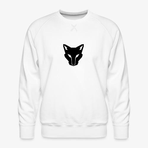 OokamiShirt Noir - Sweat ras-du-cou Premium Homme