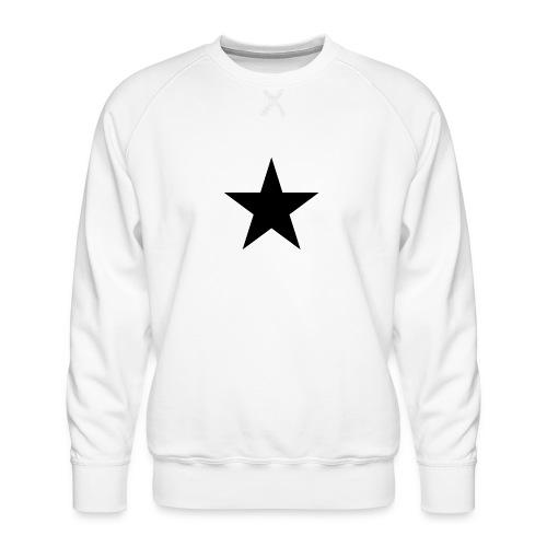 Ardrossan St.Pauli Black Star - Men's Premium Sweatshirt