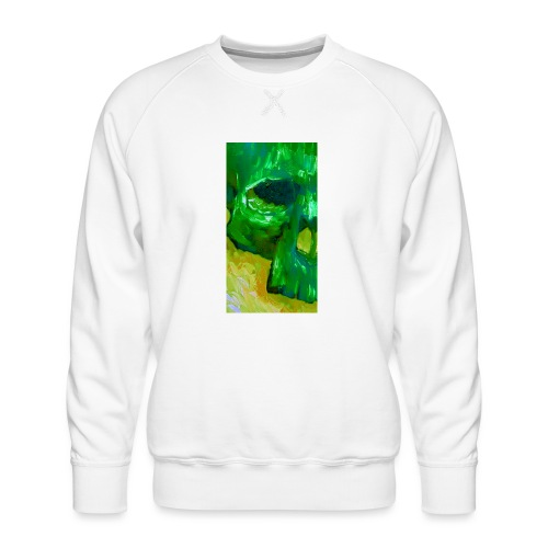 Green Skull #2 - Mannen premium sweater