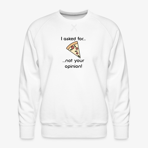 Pizza Opinion - Männer Premium Pullover