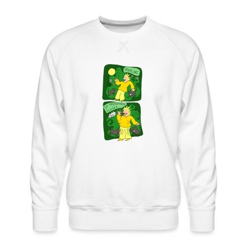 Katzenhaare - Männer Premium Pullover
