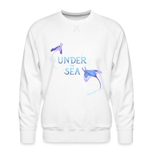 Under the Sea Mantas - Sweat ras-du-cou Premium Homme