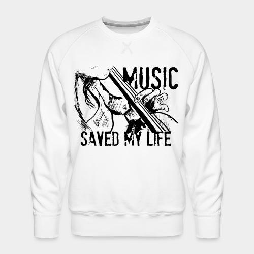 music is live - Sweat ras-du-cou Premium Homme