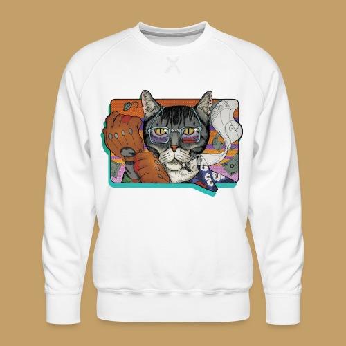Crime Cat - Bluza męska Premium
