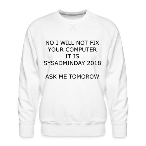 fixpc - Men's Premium Sweatshirt