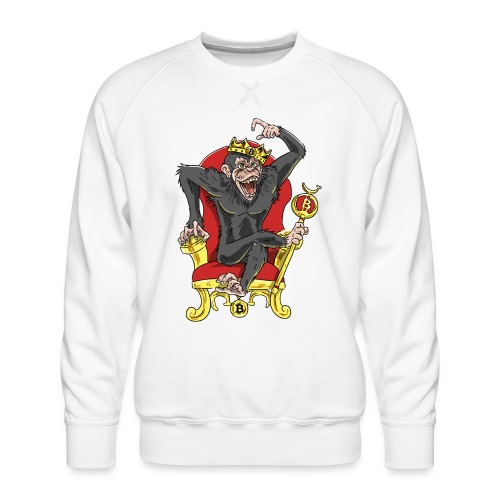 Bitcoin Monkey King - Beta Edition - Männer Premium Pullover