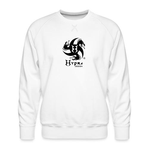 Hydra DESIGN - logo blk - Felpa premium da uomo