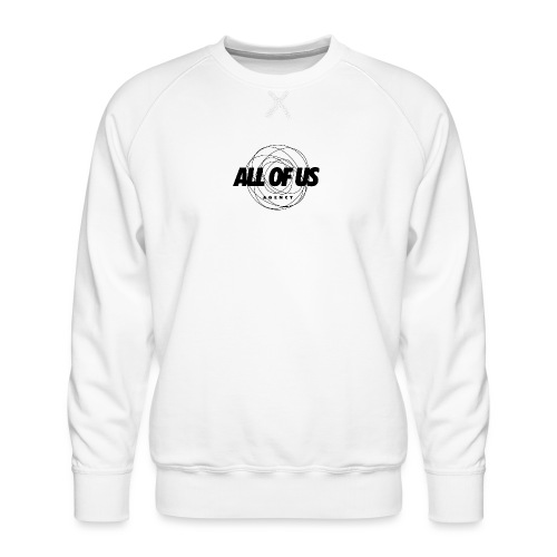 all of us bw - Männer Premium Pullover
