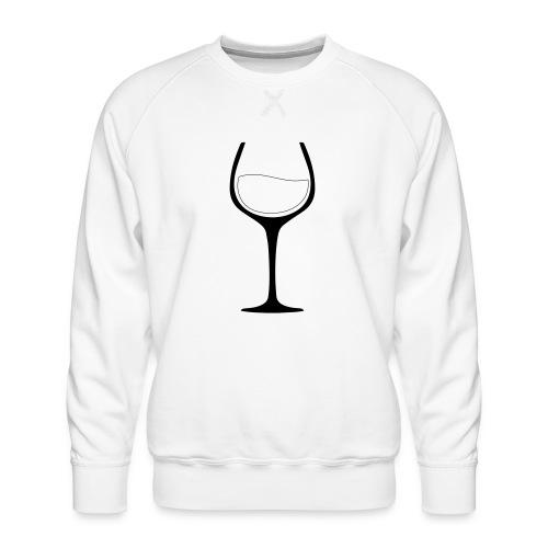 Nur noch ein Glas - Männer Premium Pullover