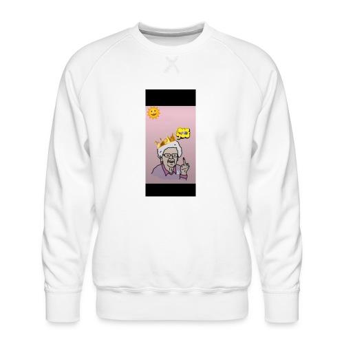 Crazy Grandma - Männer Premium Pullover