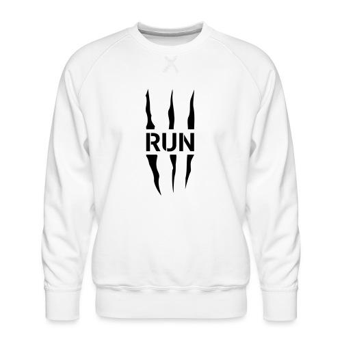 Run Scratch - Sweat ras-du-cou Premium Homme