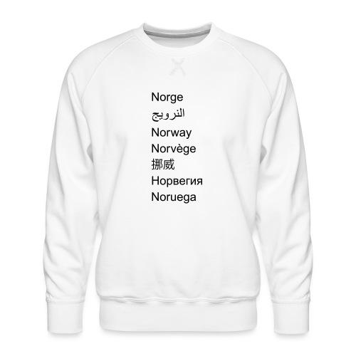 FN-Norge - plagget.no - Premium-genser for menn