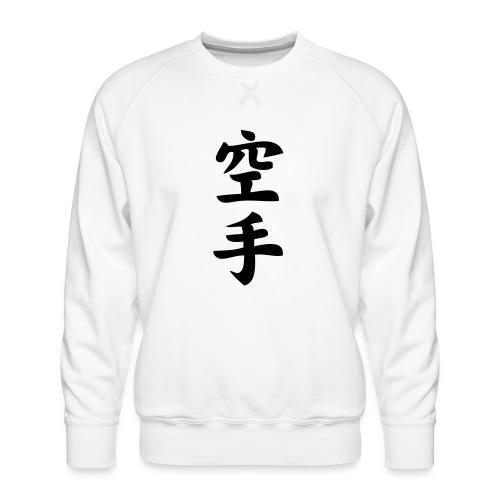 karate - Bluza męska Premium