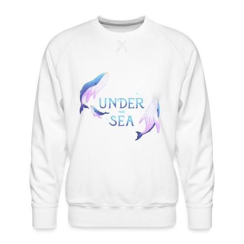 Under the Sea - Les Baleines - Sweat ras-du-cou Premium Homme