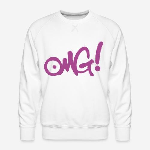 omg gott wundere dich - Männer Premium Pullover