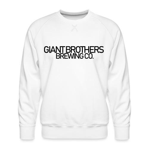 Giant Brothers Brewing co SVART - Premiumtröja herr