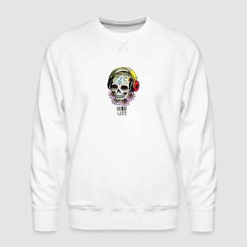 smiling_skull - Men's Premium Sweatshirt