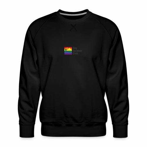 GOC Logo Black Text - Men's Premium Sweatshirt