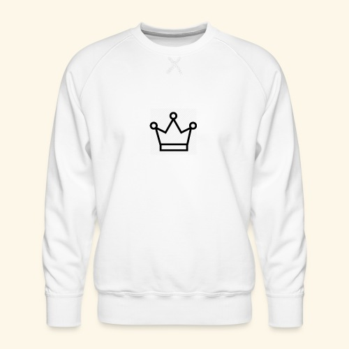 The Queen - Herre premium sweatshirt