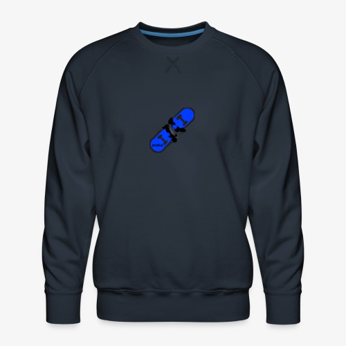 skateboard 512 - Herre premium sweatshirt