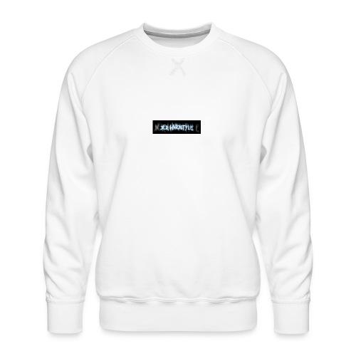 DerHardstyle.ch Kleines Logo - Männer Premium Pullover