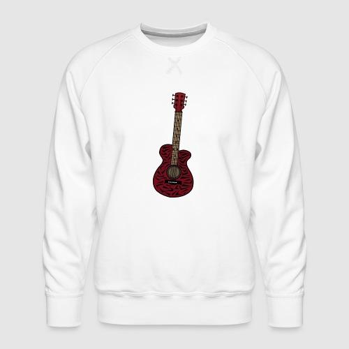 Gitarre - Männer Premium Pullover