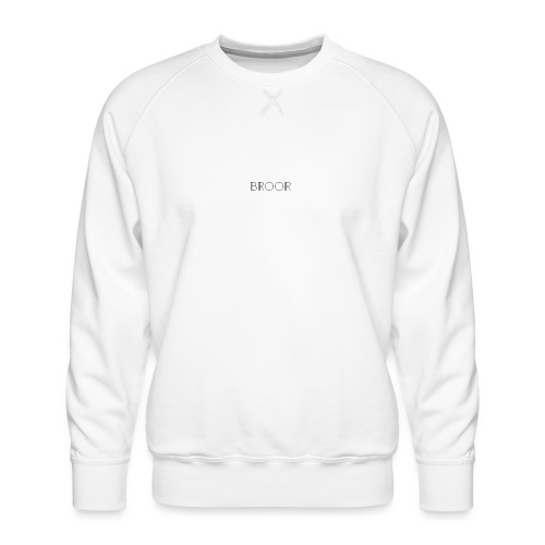 Boor design black x David - Mannen premium sweater
