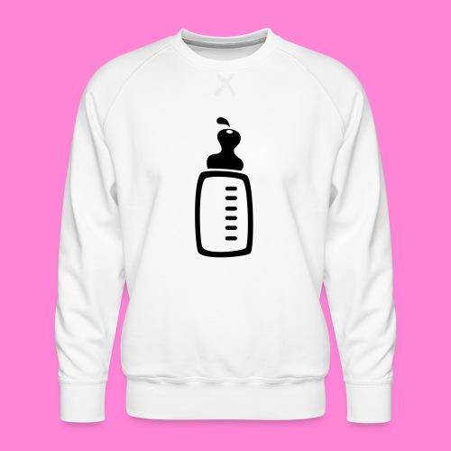 melkfles1 - Mannen premium sweater