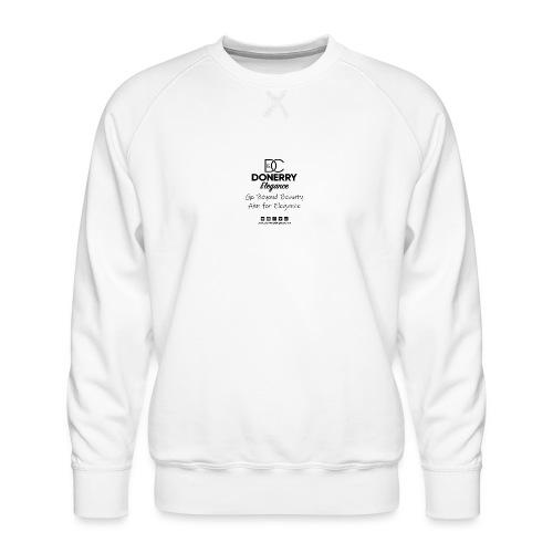 Go Beyond Elegance Image T Shirt design - Men's Premium Sweatshirt