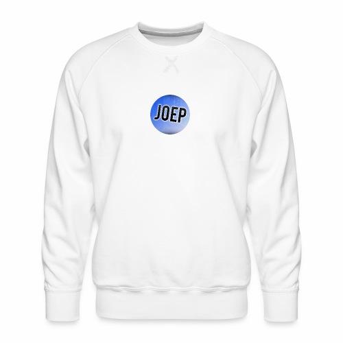 Sweater [Mannen] - Klein Logo Joep - Mannen premium sweater