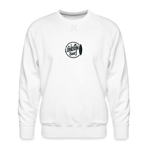 London Surf - Black - Men's Premium Sweatshirt
