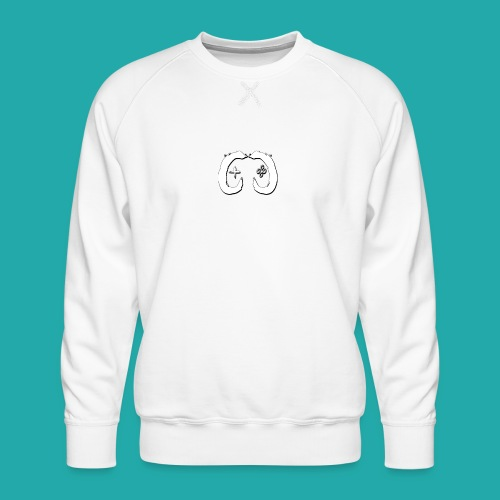 Crowd Control Logo - Men's Premium Sweatshirt