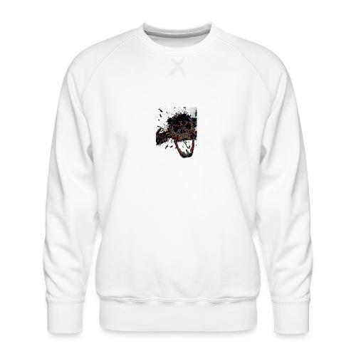Shot Skull - Men's Premium Sweatshirt