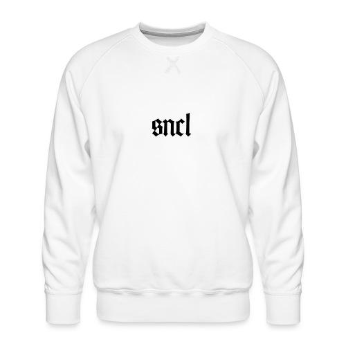 SNCL Retro Schwarz - Männer Premium Pullover