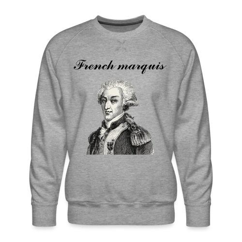 Sweat-shirt French marquis n°1 - Sweat ras-du-cou Premium Homme