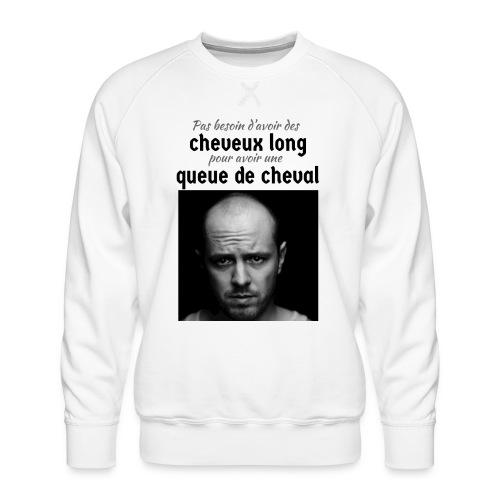 Humour Chauve ! - Sweat ras-du-cou Premium Homme