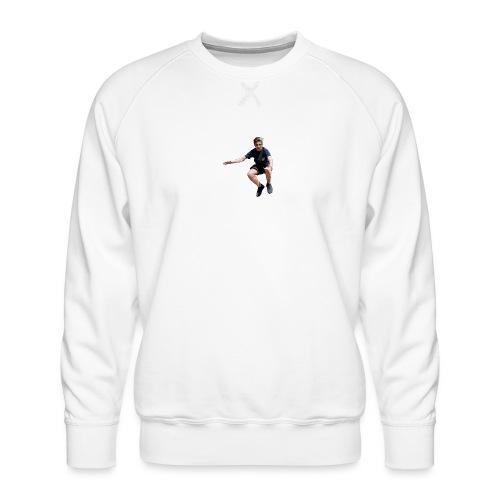 flying man - Mannen premium sweater