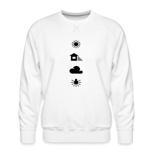 Weissabgleich - Männer Premium Pullover