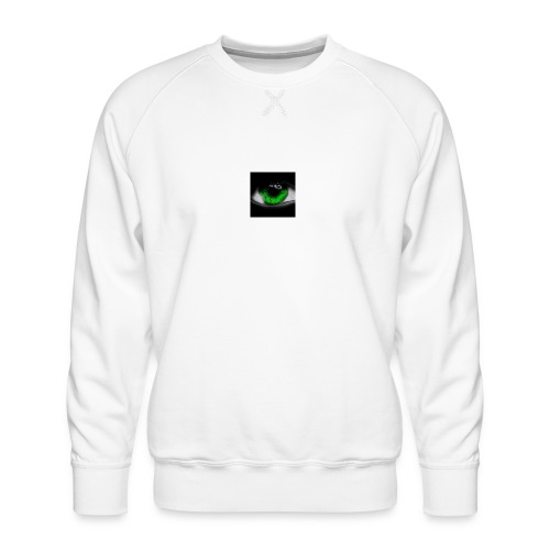 Green eye - Men's Premium Sweatshirt