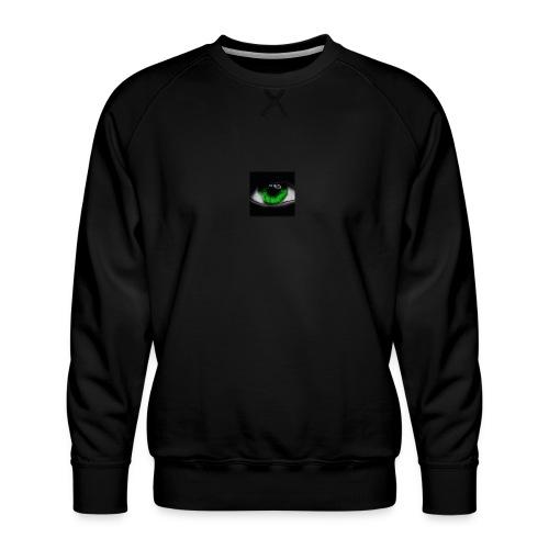 Green eye - Men's Premium Sweatshirt