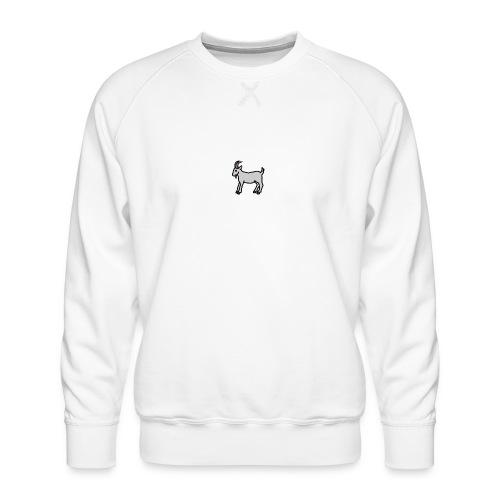 Ged T-shirt dame - Herre premium sweatshirt