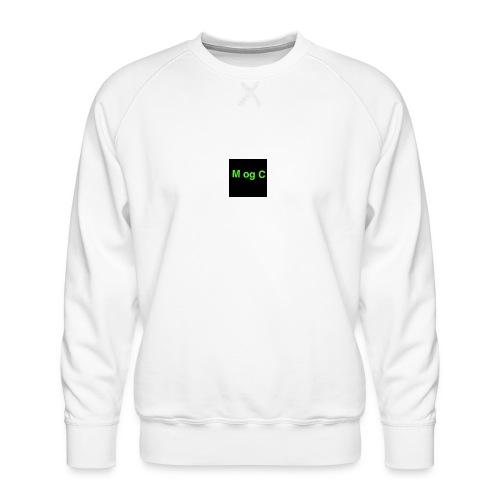 mogc - Herre premium sweatshirt
