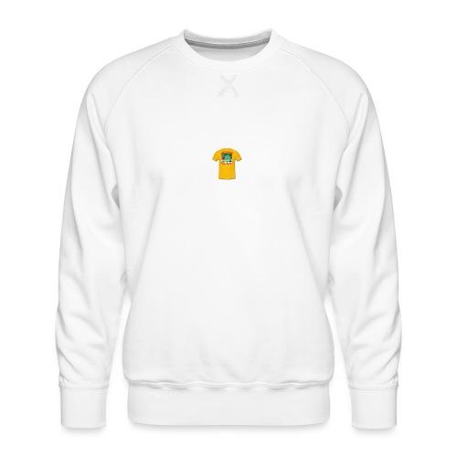 Castle design - Herre premium sweatshirt