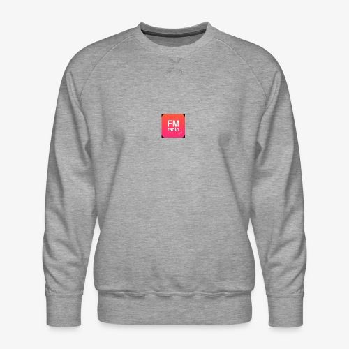 logo radiofm93 - Mannen premium sweater