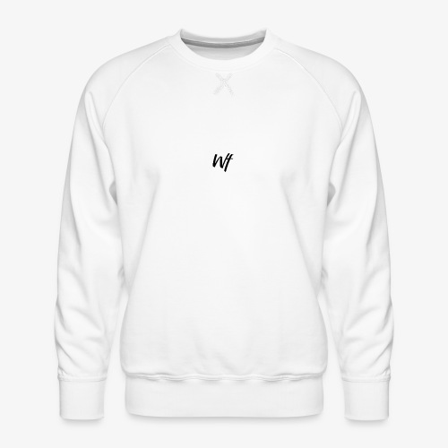Wf Signature Mens Hoodie - Men's Premium Sweatshirt