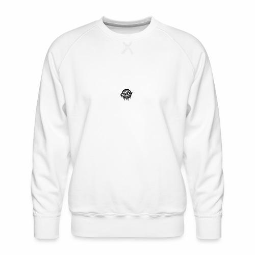 cool official crew member stamp design - Mannen premium sweater